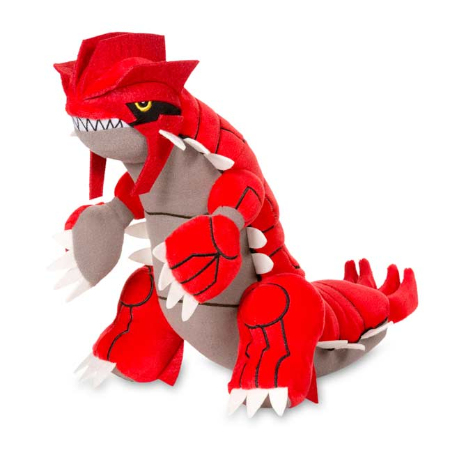 "Image for Groudon Poké Plush (Large Size) - 10 1/2"" from Pokemon Center"