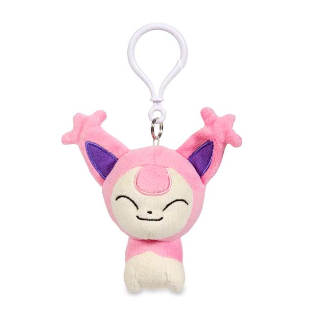 Image for Skitty Pokémon Petit Plush Keychain from Pokemon Center
