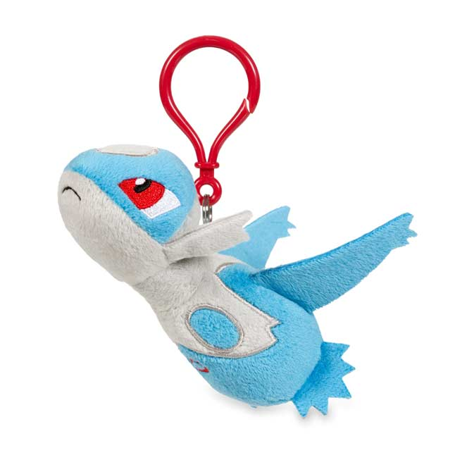 Image for Latios Pokémon Petit Plush Keychain from Pokemon Center
