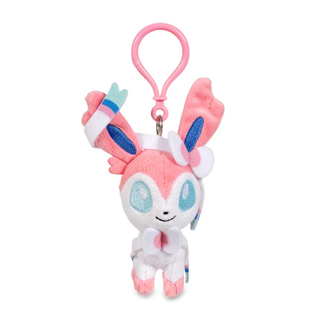 Image for Sylveon Pokémon Petit Plush Keychain from Pokemon Center