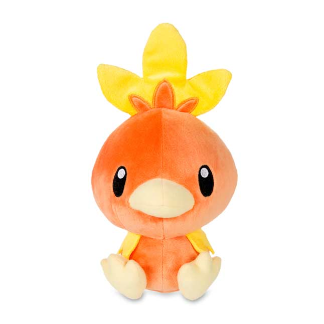 "Image for Torchic Secret Base Poké Doll Plush (Standard Size) - 9 1/4"" from Pokemon Center"