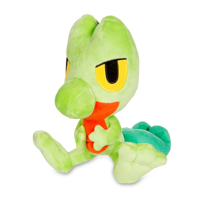 "Image for Treecko Secret Base Poké Doll Plush (Standard Size) - 8"" from Pokemon Center"