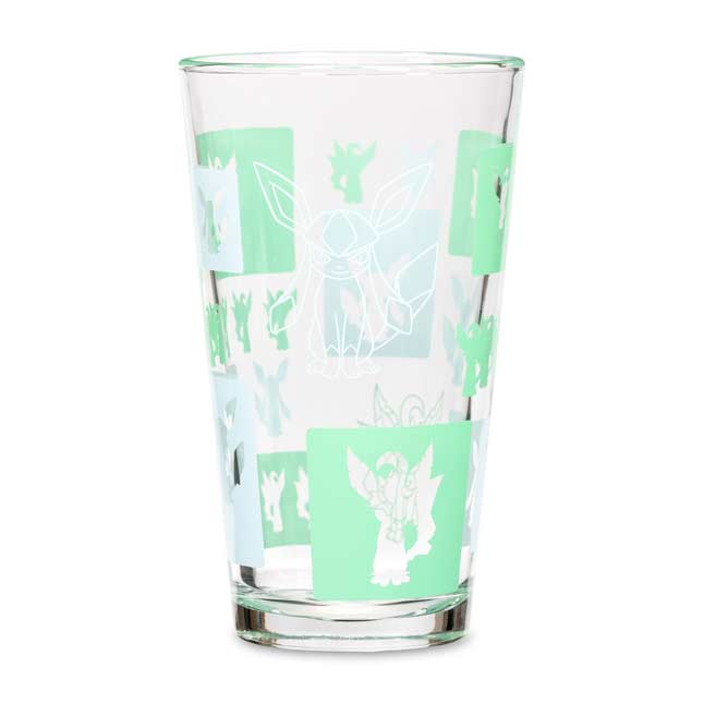 Image for Leafeon & Glaceon Eevee Elements Glass Tumbler from Pokémon Center
