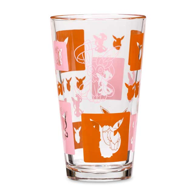 Image for Sylveon Eevee Elements Glass Tumbler from Pokemon Center