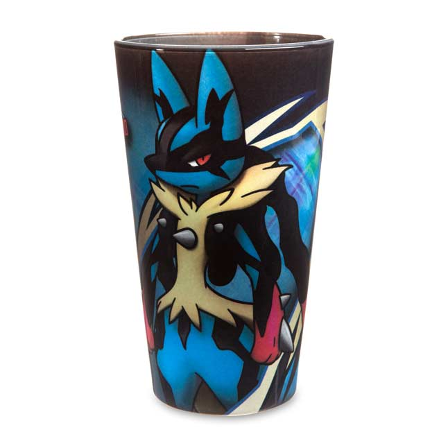 Image for Mega Lucario Mega Mayhem Glass Tumbler from Pokemon Center