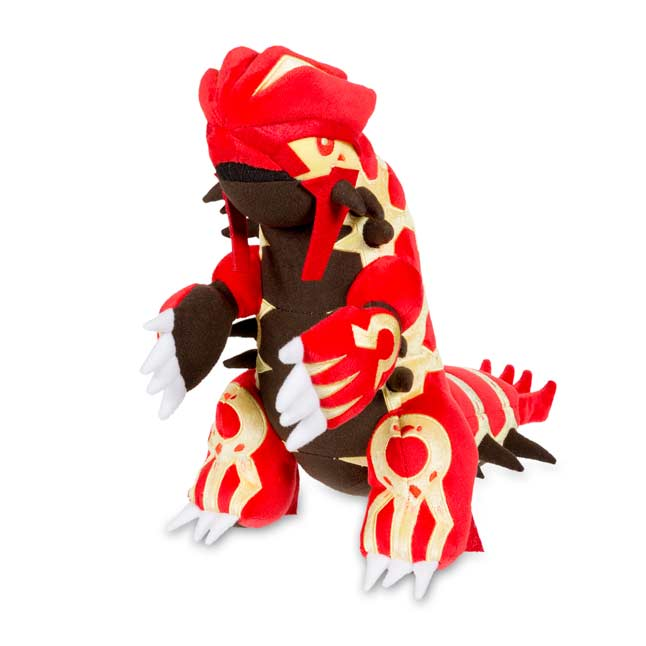 "Image for Primal Groudon Poké Plush (Large Size) - 12"" from Pokemon Center"