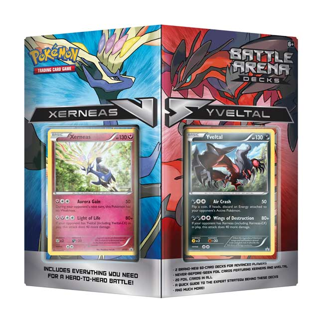 Image for Pokémon TCG: Battle Arena Decks Xerneas vs. Yveltal from Pokemon Center