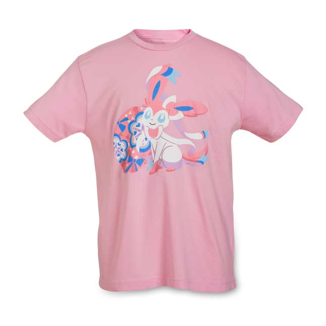 Image for Sylveon Eevee Essences Youth Relaxed Fit Crewneck T-Shirt from Pokemon Center