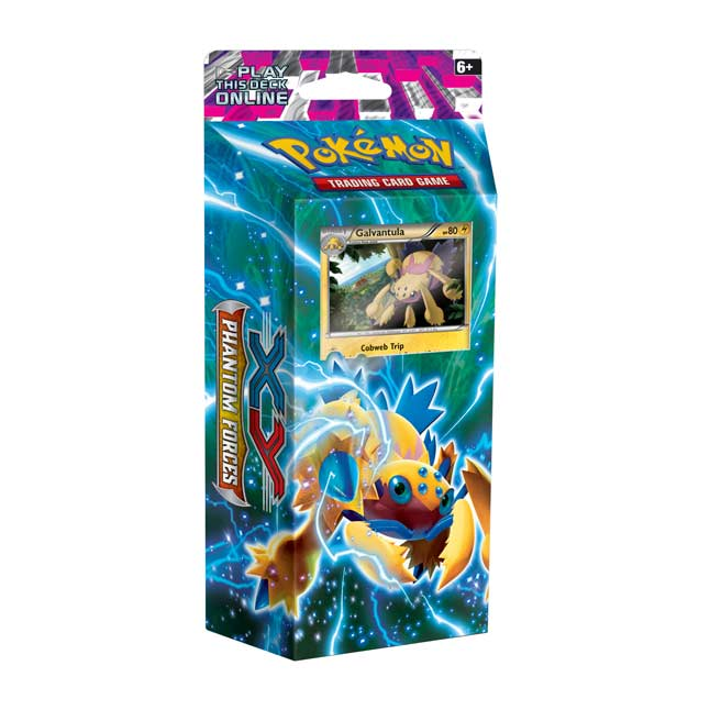 Image for Pokémon TCG: XY—Phantom Forces Bolt Twister Theme Deck from Pokemon Center