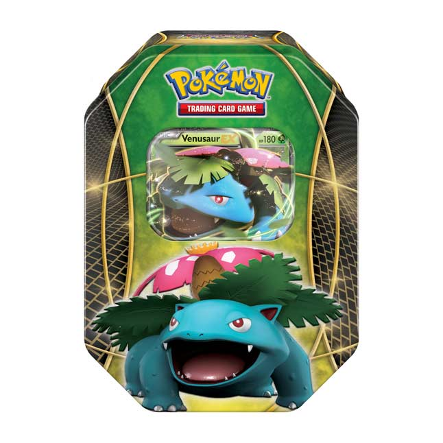Image for Pokémon TCG: Power Trio Tin (Venusaur-EX) from Pokemon Center