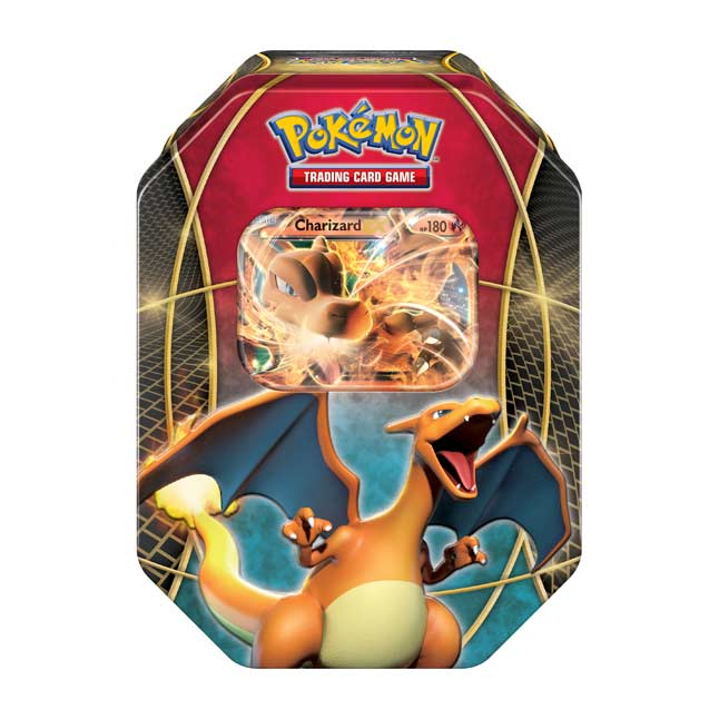 Image for Pokémon TCG: Power Trio Tin (Charizard-EX) from Pokemon Center