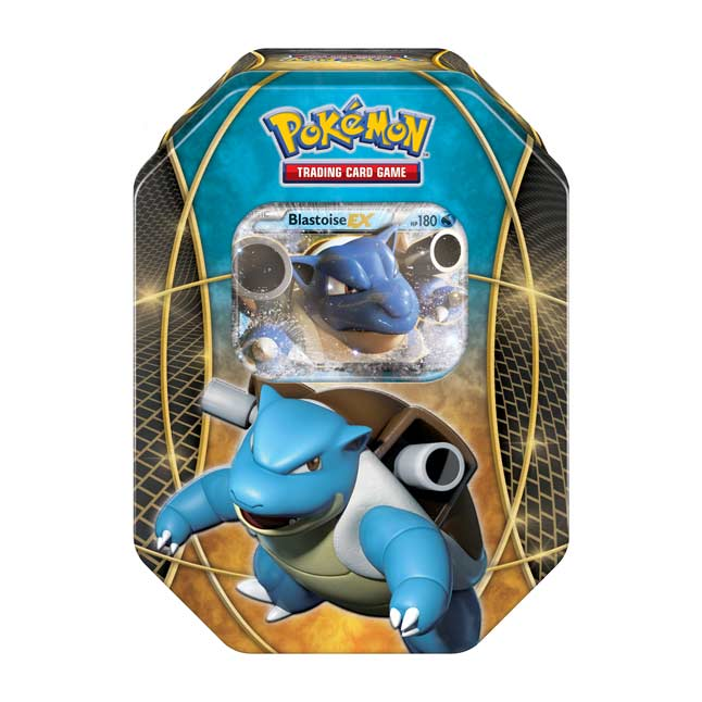 Image for Pokémon TCG: Power Trio Tin (Blastoise-EX) from Pokemon Center