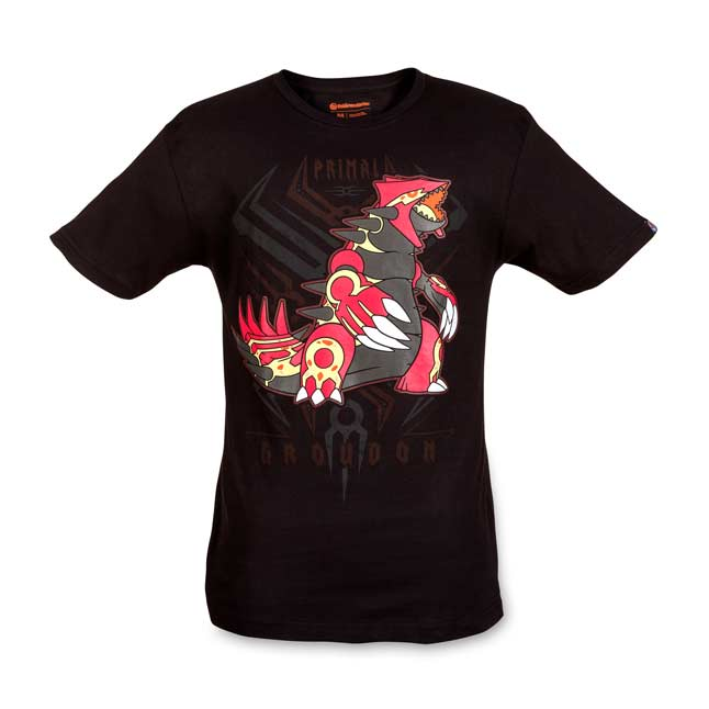 Image for Primal Groudon Primal Reversion Relaxed Fit Crewneck  T-Shirt from Pokemon Center