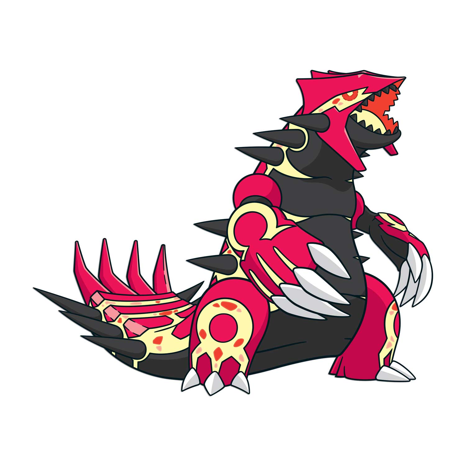 Primal Groudon Wall Graphics | Groudon | Pokémon Center ...