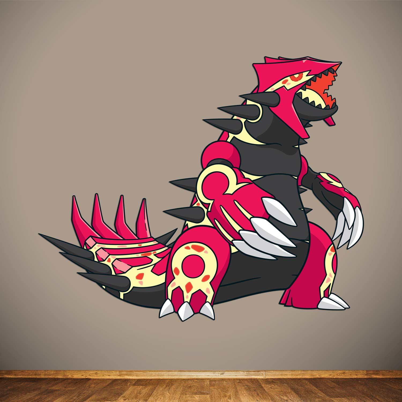 Primal Groudon Wall Graphics | Groudon | Pokémon Center ...