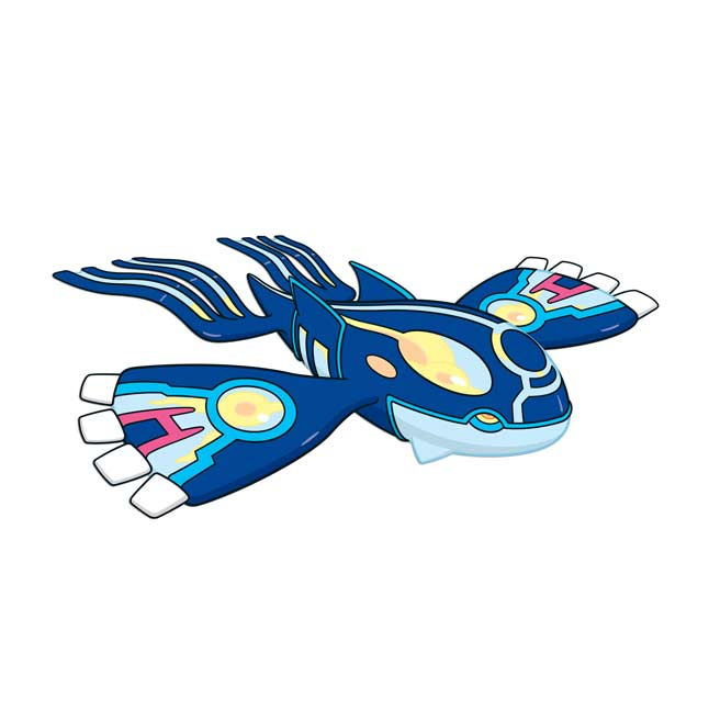 Image for Primal Kyogre Wall Graphic from Pokemon Center