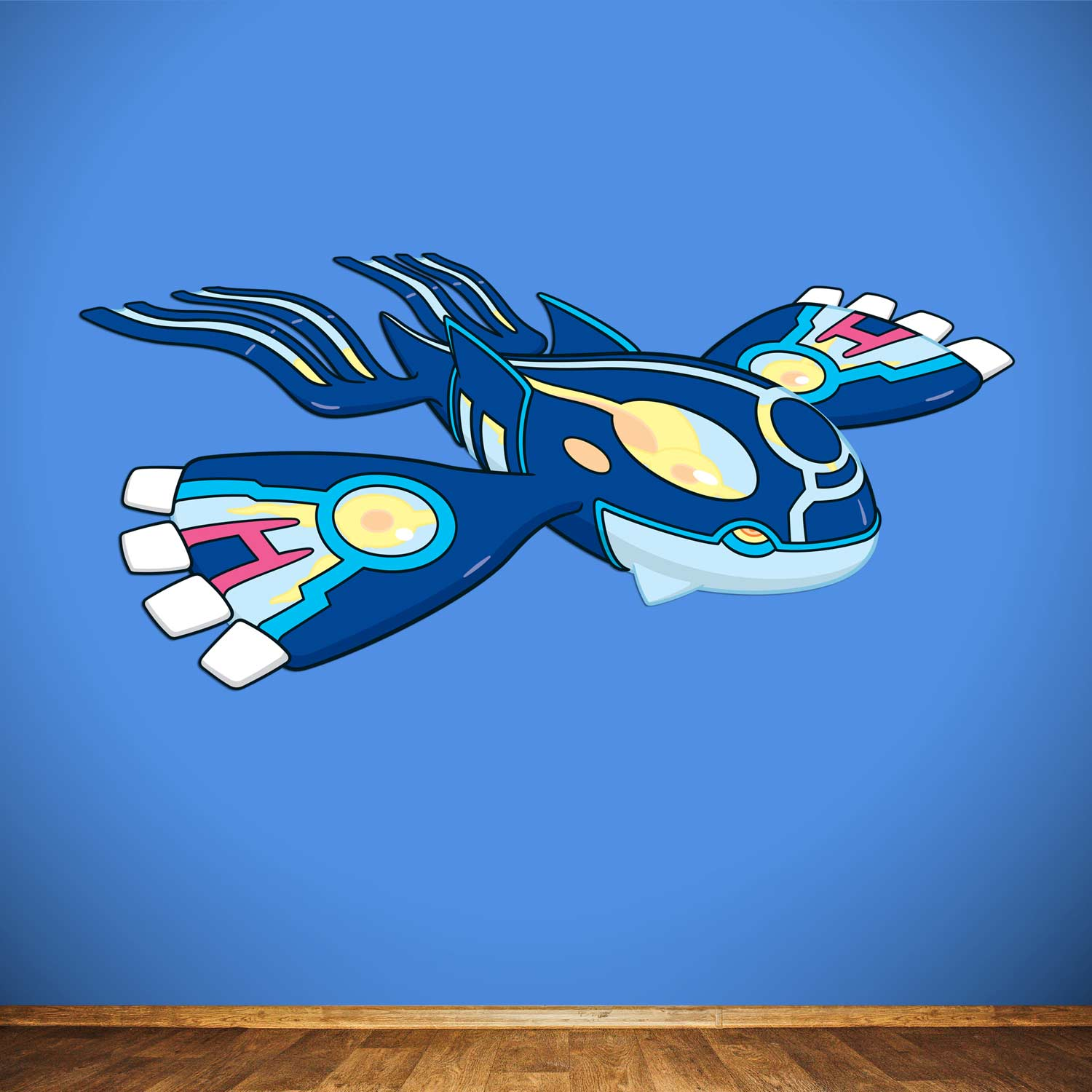 Primal Kyogre primal kyogre wall graphics | kyogre | pokémon center original