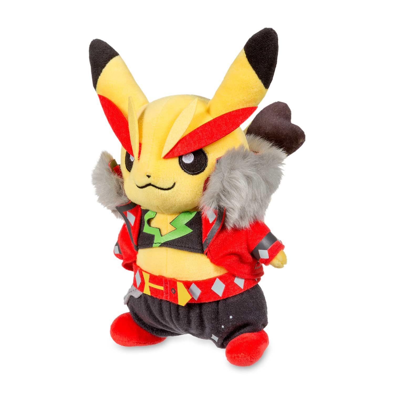 Pikachu Rock Star Poké Plush | cosplay plush | Pokémon ...