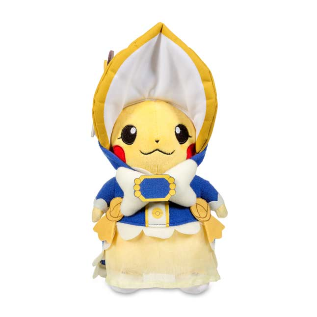 "Image for Cosplay Pikachu: Pikachu Belle Poké Plush (Standard Size) - 11 1/4"" from Pokemon Center"