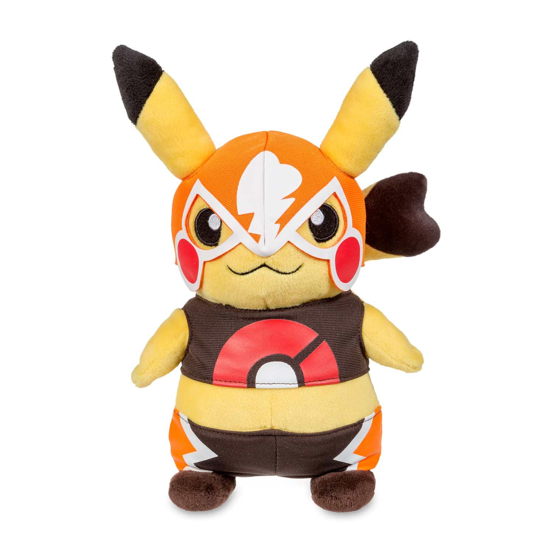 Amazon Top 10 Pikachu Libre Pok 233 Plush Cosplay Pikachu Pok 233 Mon