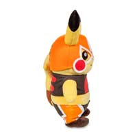 Image for Cosplay Pikachu: Pikachu Libre Poké Plush (Standard Size) - 9 1/4 In. from Pokemon Center