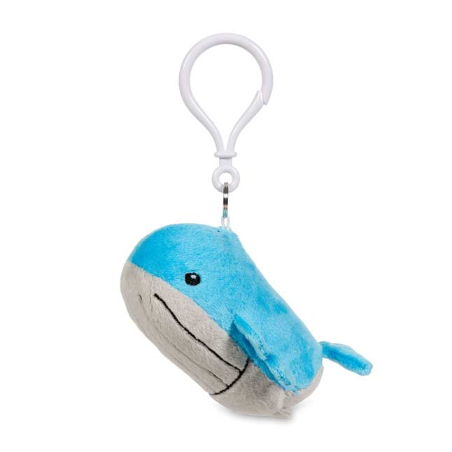 Image for Wailord Pokémon Petit Plush Keychain from Pokemon Center