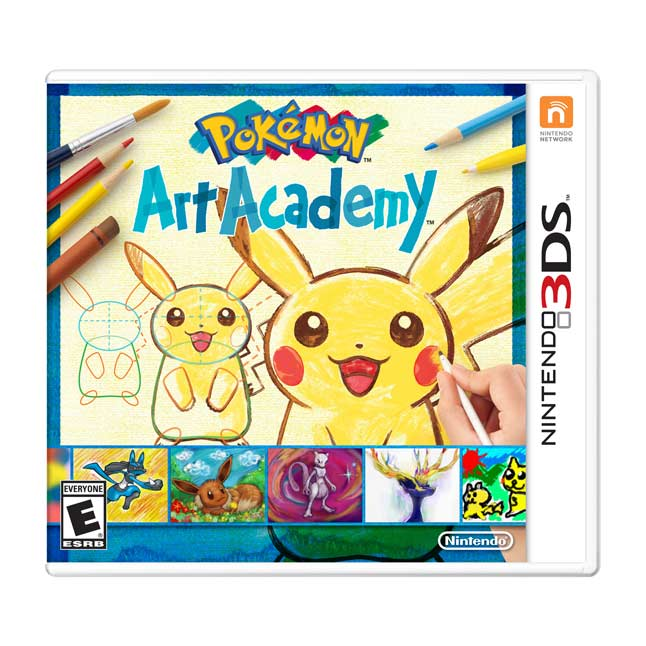 Image for Pokémon Art Academy from Pokemon Center