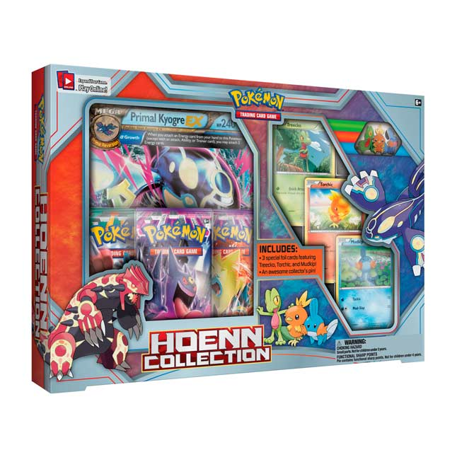 Image for Pokémon TCG: Hoenn Collection Featuring Primal Kyogre-EX from Pokemon Center