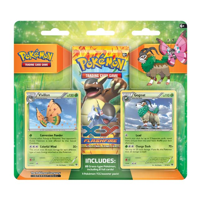 Image for Pokémon TCG: Vivillon & Gogoat Grass Gym Collector Pack from Pokemon Center