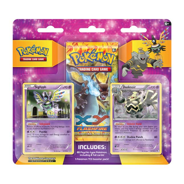 Image for Pokémon TCG: Sigilyph & Dusknoir Psychic Gym Collector Pack from Pokemon Center