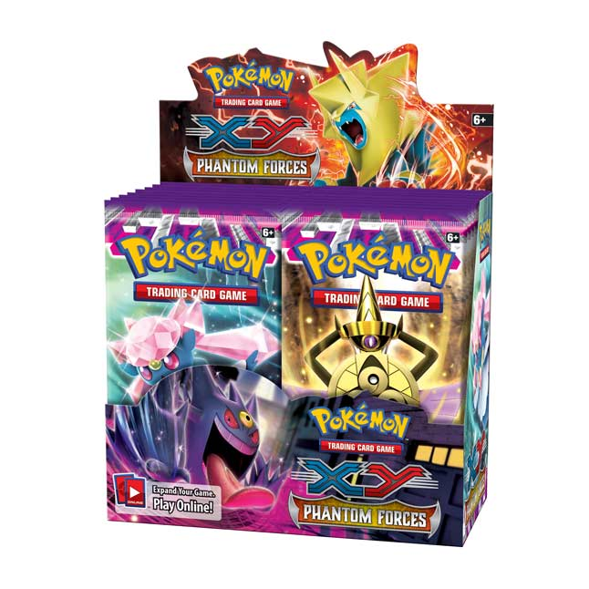 Image for Pokémon TCG: XY—Phantom Forces Booster Display (36 Packs) from Pokemon Center