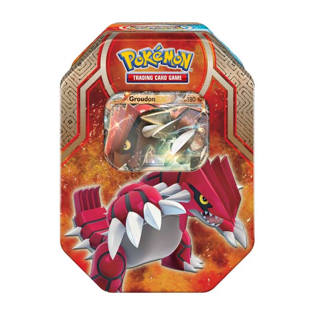 Image for Pokémon TCG: Legends of Hoenn Tin (Groudon) from Pokemon Center