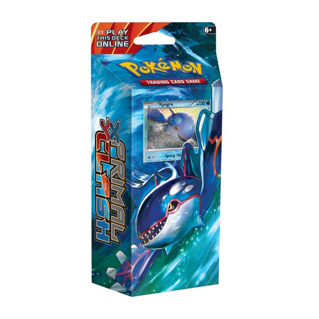 Image for Pokémon TCG: XY-Primal Clash Ocean's Core Theme Deck from Pokemon Center