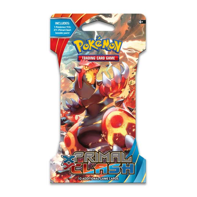 Image for Pokémon TCG: XY-Primal Clash Sleeved Booster Pack (10 Cards) from Pokemon Center