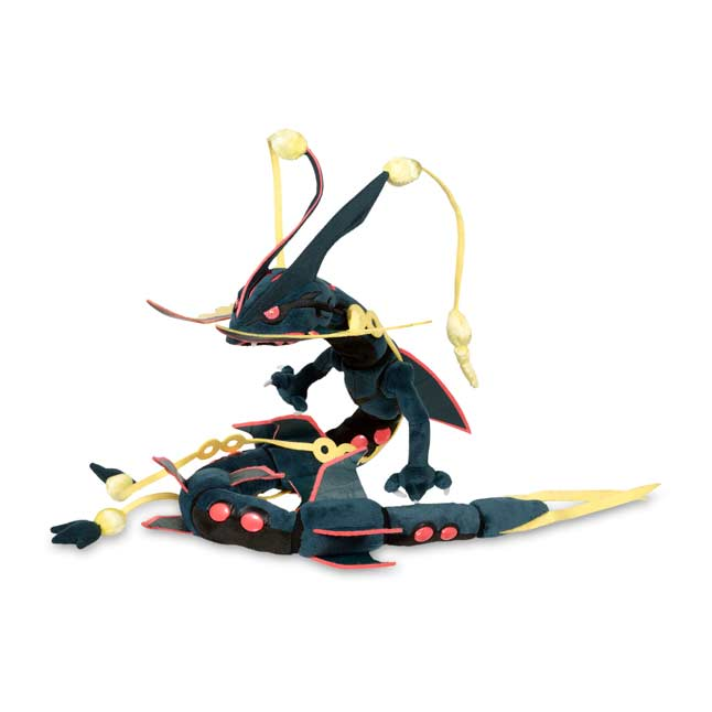 "Image for Shiny Mega Rayquaza Poké Plush (Large Size) - 7 4/5"" from Pokemon Center"