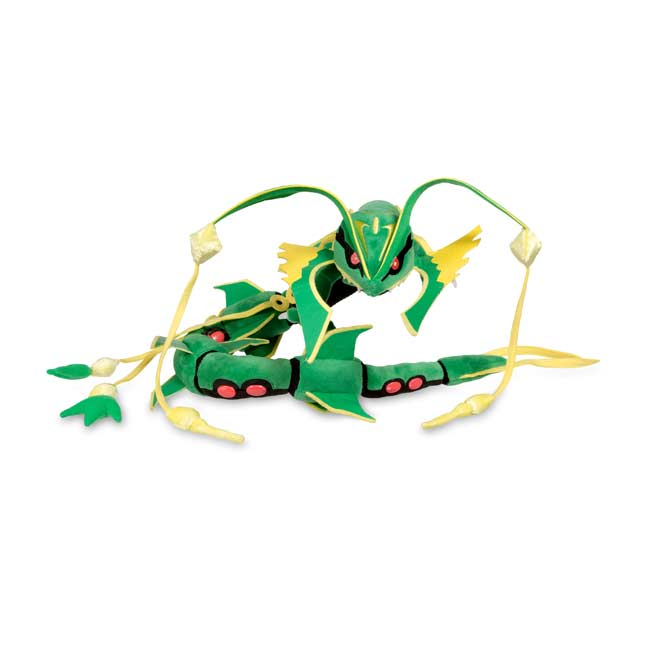 Image for Mega Rayquaza Poké Plush (Large Size) from Pokemon Center