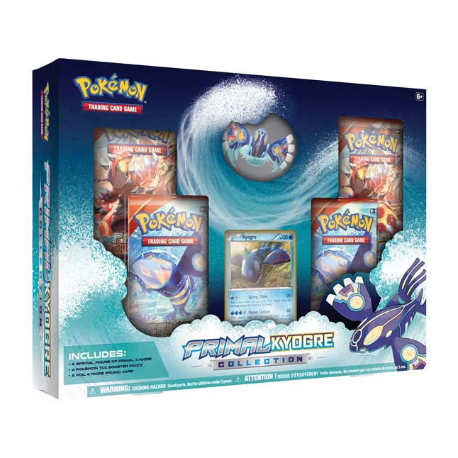 Image for Pokémon TCG: Primal Kyogre Collection (Includes Figure) from Pokemon Center