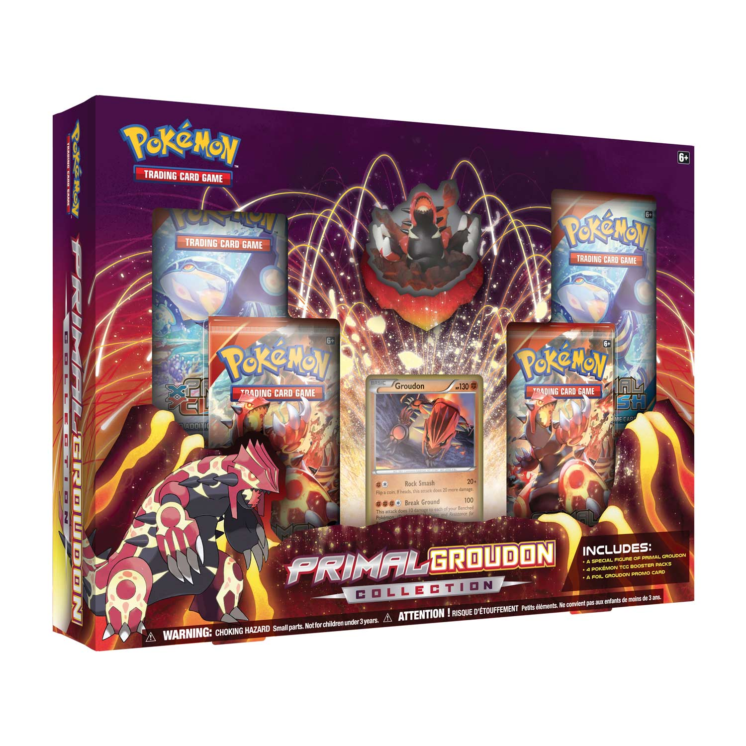 Primal Groudon Collection Groudon Groudon Figure