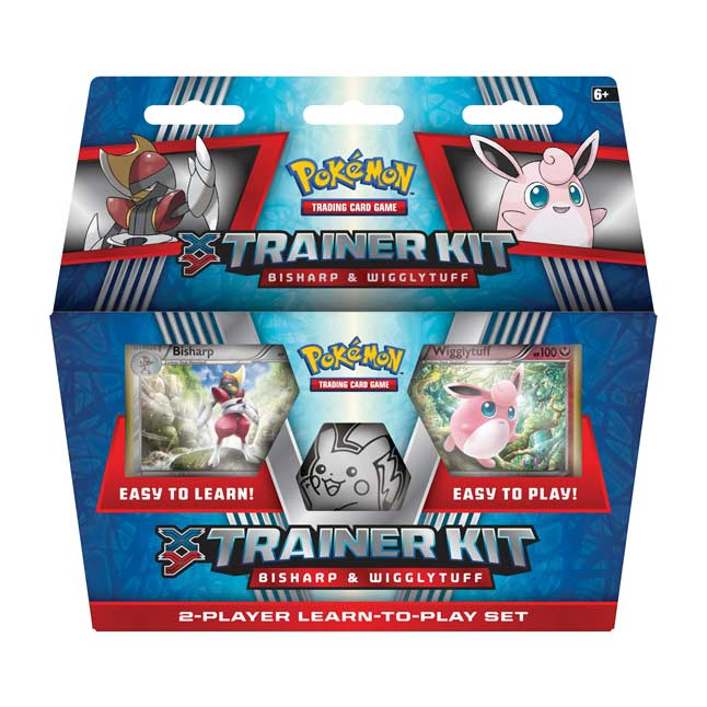 Image for Pokémon TCG: XY-Trainer Kit (Bisharp & Wigglytuff) from Pokemon Center