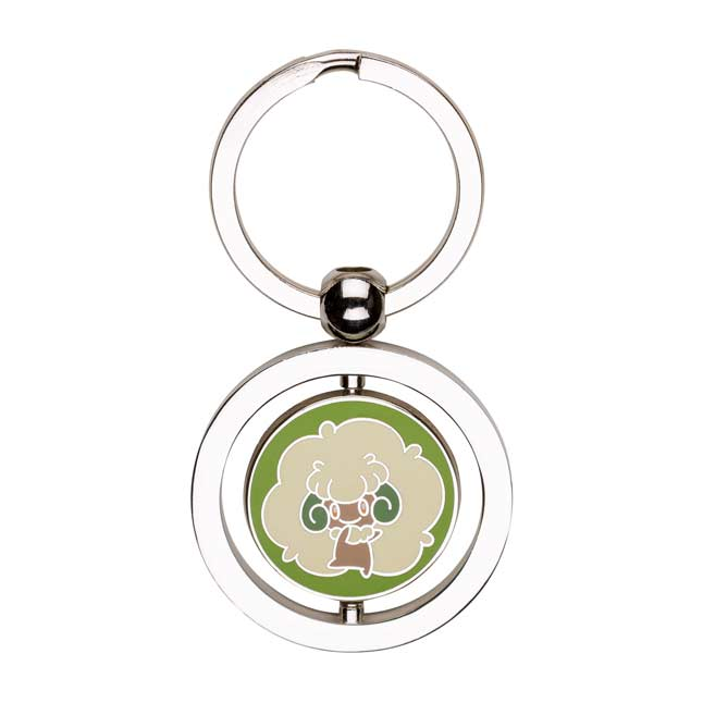 Image for Whimsicott's Substitute Spinning Keychain from Pokemon Center