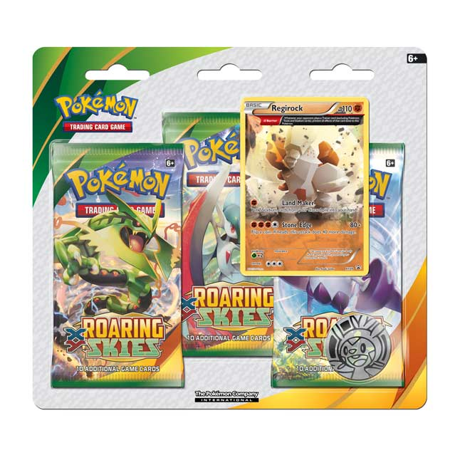 Image for Pokémon TCG: XY-Roaring Skies 3-Pack Blister from Pokemon Center