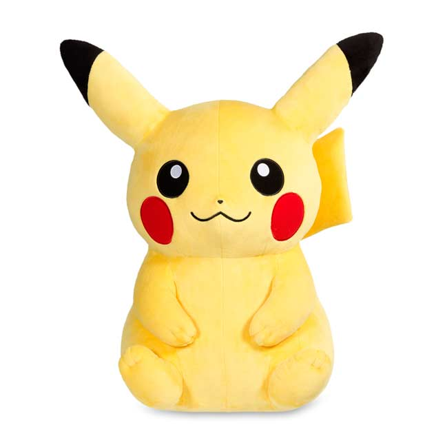 "Image for Pikachu Poké Plush (Jumbo Size) - 28 1/2"" from Pokemon Center"