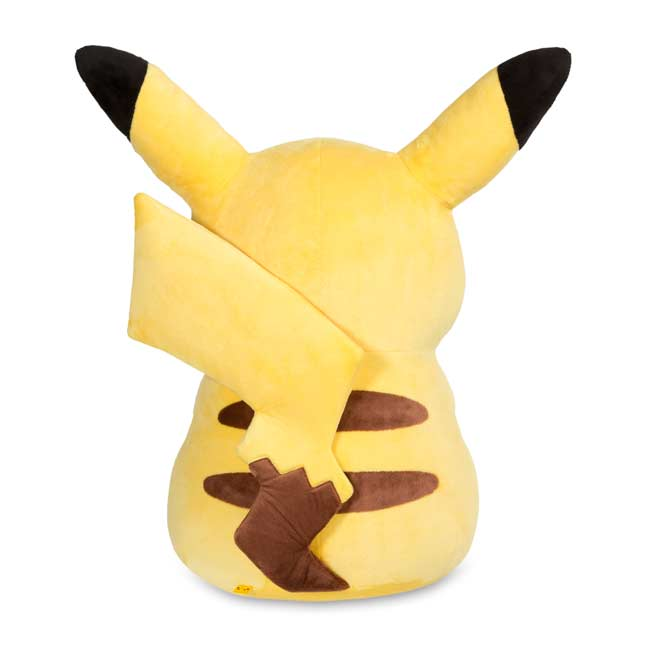 Image for Pikachu Poké Plush (Jumbo Size) - 28 1/2 In. from Pokemon Center