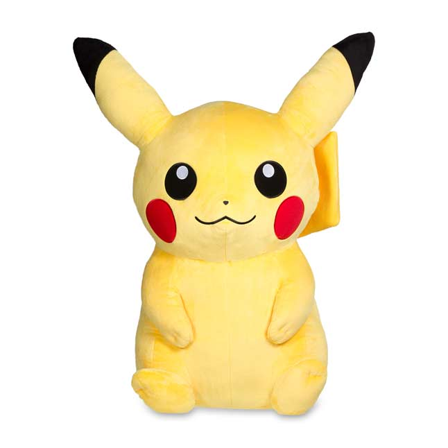 "Image for Pikachu Poké Plush (Jumbo Size) - 39"" from Pokemon Center"