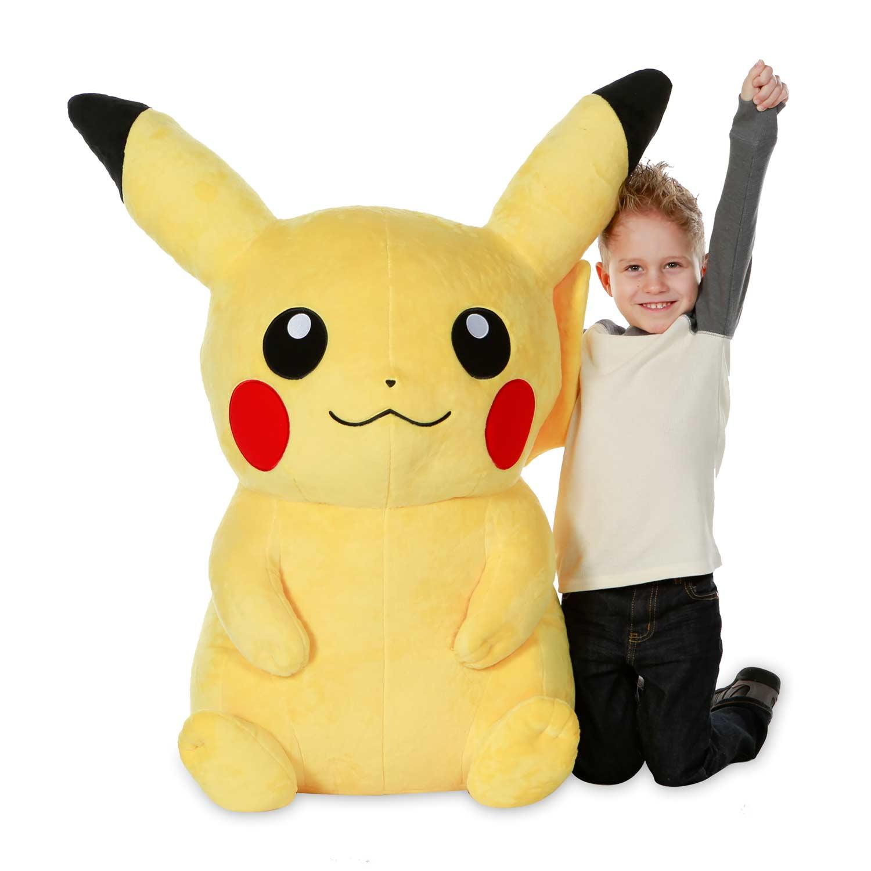 Pikachu | plush toy | Poké Plush | jumbo size | Pokémon ...