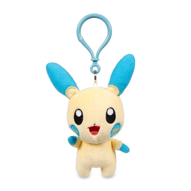 Image for Minun Pokémon Petit Plush Keychain from Pokemon Center