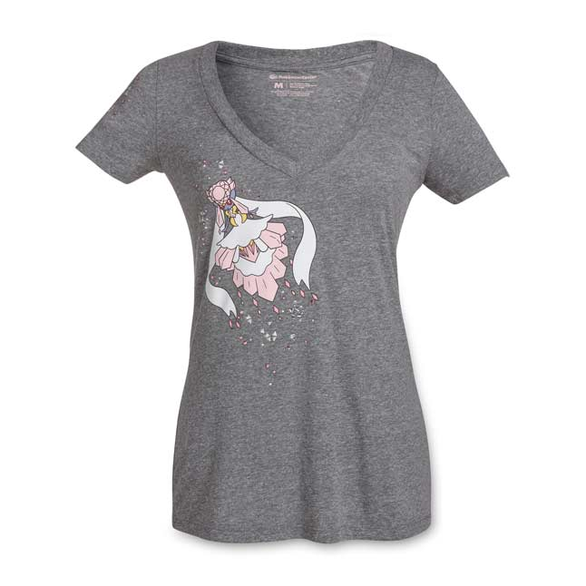 Image for Mega Diancie Women's Fitted V-Neck T-Shirt from Pokemon Center