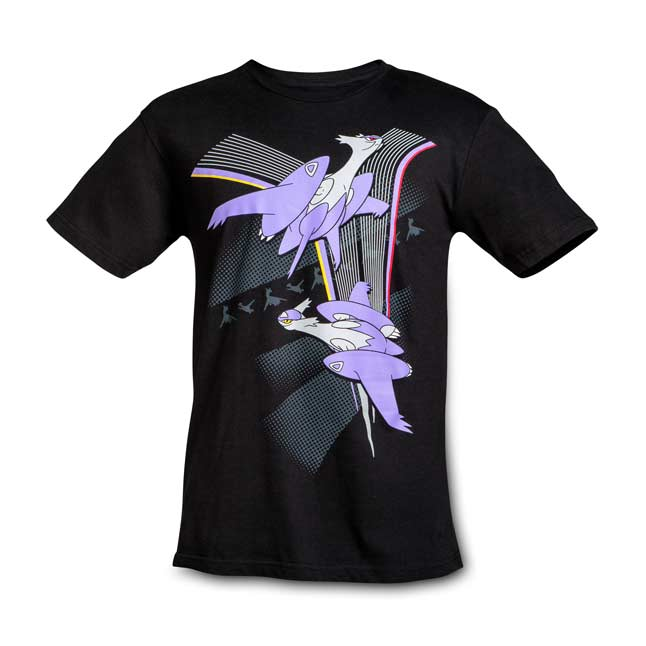 Image for Mega Latios and Mega Latias Relaxed Fit Crewneck T-Shirt from Pokemon Center