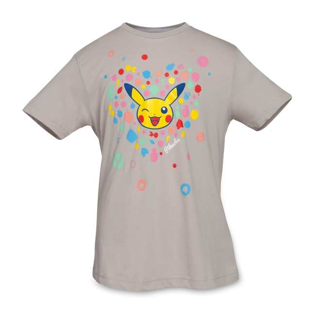 Image for It's Berry Pikachu Youth Relaxed Fit Crewneck T-Shirt from Pokemon Center