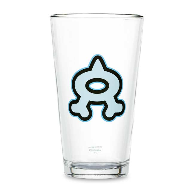 Image for Team Aqua Glass Tumbler from Pokemon Center